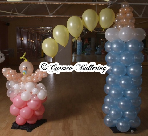 Decor catalogue online for Baby bottle balloon decoration